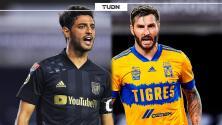 Gignac 'golea' a Vela previo a la Final de Concacaf