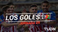 Revive los goles de la Jornada 9 del Apertura 2019