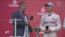 Nico Rosber agradeció que Ricciardo no estuviera en el podio del GP de Japón