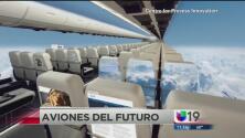 Los aviones del futuro podrían ser transparentes