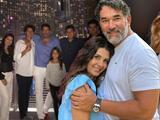 Como una gran familia: Mayrín Villanueva felicita a los hijos de su esposo Eduardo Santamarina con Itatí Cantoral