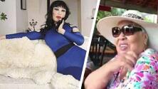"""""""Se ven de la misma edad"""": foto de la madre de Lyn May sorprende a muchos"""