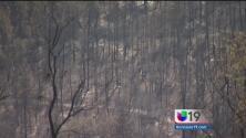 El incendio 'Sand' destruyó 19 casas