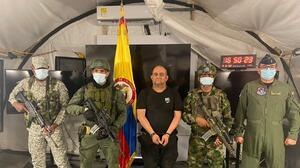 Capturan al principal capo del narcotráfico en Colombia, alias 'Otoniel'