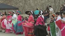 Mexicanos festejan el Día de la Independencia con un colorido evento en el corazón de San José