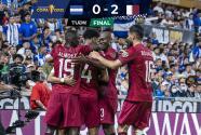 Honduras cae 2-0 ante Qatar y cede el primer ligar del grupo