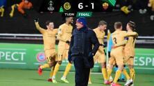 ¡The Special Six! El modesto Bodo Glimt golea 6-1 a la Roma de Mourinho