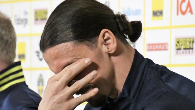 Los dioses también lloran: Zlatan rompió en llanto en rueda de prensa