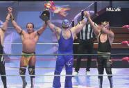 ¡Se llevan el trofeo! Blue Panther Jr. y The Panther ganan la Copa Dinastías