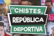 Los chistes de República Deportiva contados por 'Tuca', Lainez y Aguirre