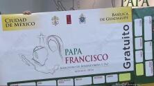 Comienza la distribución de los boletos para la visita papal en México