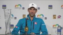 """Novak Djokovic: """"Estoy muy agradecido y orgulloso por todos los logros"""""""