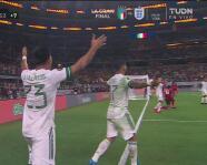 ¡Se ahoga el grito de gol! México marca y Funes Mori está en offside