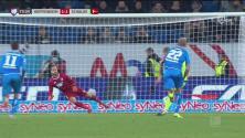 Bentaleb anota y pone el 1-1 entre el Hoffenheim y el Schalke