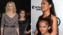 """""""Parecen gemelas"""": 7 hijas de famosas que ya crecieron y son idénticas a sus mamás"""
