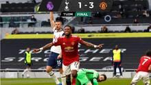 El Manchester United se acerca al City tras vencer al Tottenham
