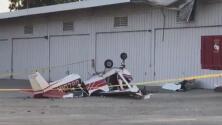 Un hombre muerto y un niño gravemente herido tras un accidente aéreo en el norte de Los Ángeles