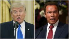 El polémico enfrentamiento entre el presidente Trump y Arnold Schwarzenegger a través de redes sociales