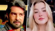 Arturo Carmona casi se infarta por el video de su hija Melenie con una prueba de embarazo