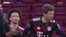 ¡Le hacen la travesura al Atlético! Thomas Müller anota 1-1 de penalti