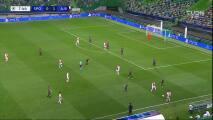 ¡Doblete de Haller! Ajax ya amplió la ventaja en Portugal ante Sporting