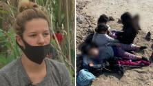 """""""Fue una decisión muy difícil"""": madre de dos de las cinco niñas que fueron abandonadas en la frontera"""