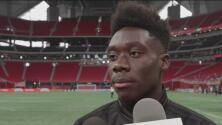 Alphonso Davies, ilusionado por su venta al Bayern Múnich y participar del Juego de las Estrellas de MLS