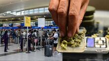 Definen cantidad de marihuana que un pasajero puede llevar en los aeropuertos de Nueva York