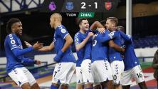 Propina Everton octava derrota al Arsenal