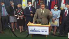 Senadores demócratas en Austin mandan mensaje a legisladores republicanos