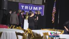 Republicanos festejan triunfo de Trump en Georgia