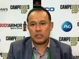 """Reynoso tras perder el Campeones Cup: """"Hay que tragar saliva; va a ser una noche difícil"""""""