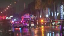 Intenso operativo policial tras un tiroteo que dejó a un agente herido en el área de West Miami