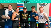 Furioso regreso de Óscar Valdez y Canelo a los entrenamientos