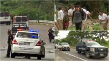 En video: Autoridades de México detienen a decenas de migrantes de la caravana