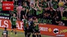 ¡Fiesta, golazo y goleada! Héctor Jiménez define a lo Ronaldinho y marca el cuarto