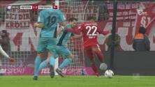 ¡Y por fin llegó el gol! a 10 para el final Gnabry marca el 1-0 de Bayern ante el Freiburg
