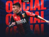 Johan Vásquez es oficialmente nuevo jugador del Genoa de Italia