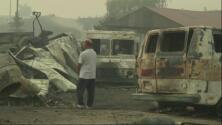 Las pérdidas por los incendios forestales
