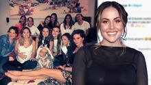 Un ritual de té con sus amigas: así fue el 'baby shower' que Marimar Vega le organizó a su hermana Zuria