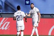 """Benzema se rinde ante la magia de Vinícius: """"Es un crack"""""""