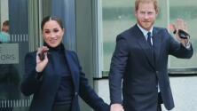 Sonrientes y tomados de la mano, así se han dejado ver Meghan y Harry en su visita oficial a Nueva York