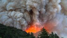 Humo de incendios forestales daña calidad del aire en Bakersfield