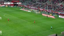 ¡Gol de Polonia! Swierczok pone el 1-0 sobre Rusia
