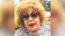 """Silvia Pinal reaparece """"feliz"""" para ver """"qué pasó con el chisme"""" de su hospitalización"""