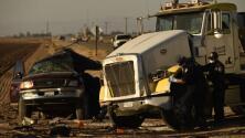 Autoridades confirman que 10 de las víctimas del accidente cerca a la frontera en California son mexicanas