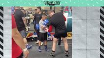 ¡Humildad! Canelo y su cátedra a un joven boxeador