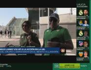 """Seguidores de Diego Lainez en el Betis: """"Es un chavalito con futuro"""""""