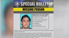 Autoridades buscan a un hombre reportado como desaparecido en el este de Los Ángeles