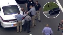 En video: así fue el arresto de un hombre tras una persecución a alta velocidad